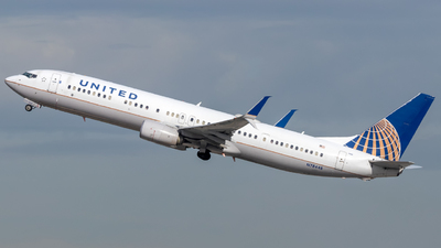 A picture of N78448 - Boeing 737924(ER) - United Airlines - © 702Aviationn