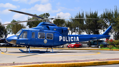 XC-SPV - Bell 412SP - Mexico - Police