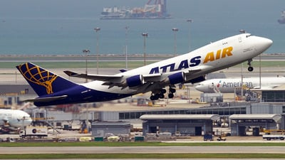 N493MC - Boeing 747-47UF(SCD) - Atlas Air