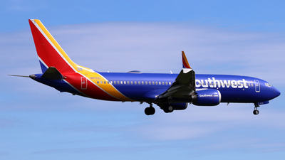 A picture of N8702L - Boeing 737 MAX 8 - Southwest Airlines - © Scott Kerhaert