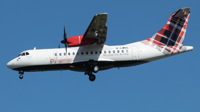 G-LMRC - ATR 42-500 - Loganair