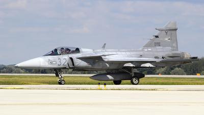 32 - Saab JAS-39C Gripen - Hungary - Air Force