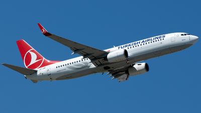 TC-JGC - Boeing 737-8F2 - Turkish Airlines