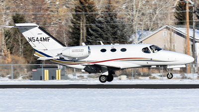 A picture of N544MF - Cessna 510 Citation Mustang - [5100097] - © Nathaniel Schott