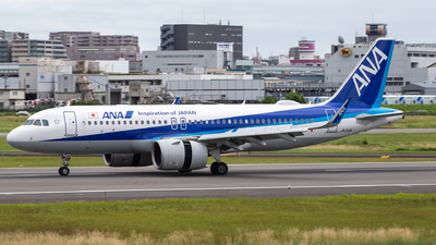 A picture of JA212A - Airbus A320271N - All Nippon Airways - © LUSU