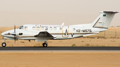 HZ-MS75 - Beechcraft B300C King Air 350C - Saudi Arabia - Aeromedical Evacuation