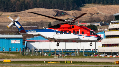 A picture of GWNSR - Sikorsky S92A - CHC Helikopter Service - © paul chalmers