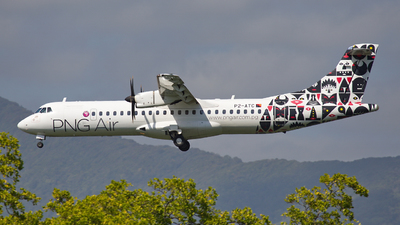 A picture of P2ATC - ATR 72600 - PNG Air - © Dave Parer