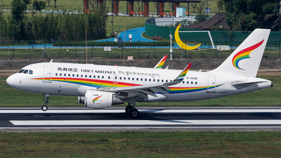 A picture of B1008 - Airbus A319115 - Tibet Airlines - © Marcus Yu