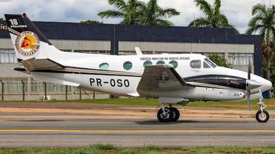 PR-OSO - Beechcraft C90A King Air - Brazil - Military Police
