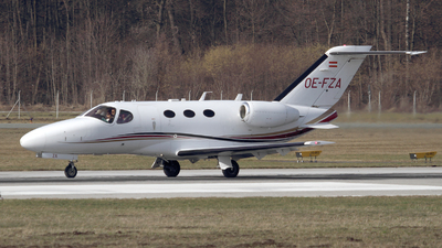 OE-FZA - Cessna 510 Citation Mustang - Private