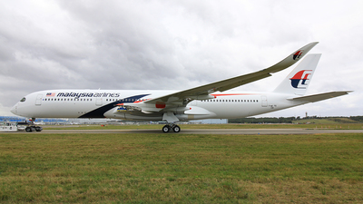 F-WZFG - Airbus A350-941 - Malaysia Airlines