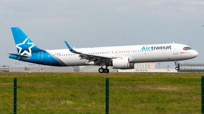 A picture of CGOIH - Airbus A321271NX - Air Transat - © Mark18