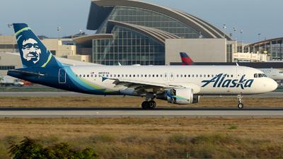 N855VA - Airbus A320-214 - Alaska Airlines