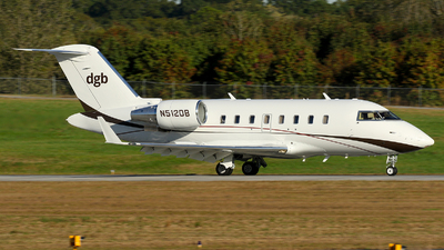 N512DB - Bombardier CL-600-2B16 Challenger 605 - Private