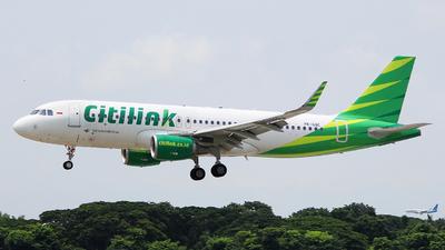 PK-GQC - Airbus A320-214 - Citilink