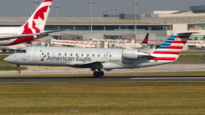 N206PS - Bombardier CRJ-200ER - American Eagle (PSA Airlines)