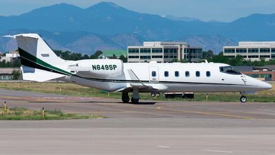 N649SP - Bombardier Learjet 60 - Private