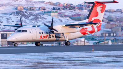 A picture of CFDAO - De Havilland Canada Dash 8100 - Air Inuit - © Brian Tattuinee