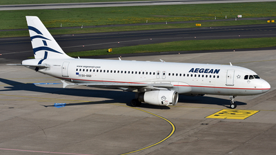 A picture of SXDGD - Airbus A320232 - Aegean Airlines - © LukasAndreas