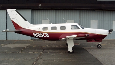 N186CB - Piper PA-46-350P Malibu Mirage - Private
