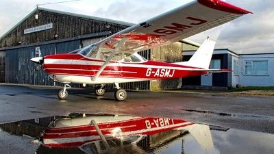 A picture of GASMJ - Cessna F172F Skyhawk - [00029] - © Jez-UK