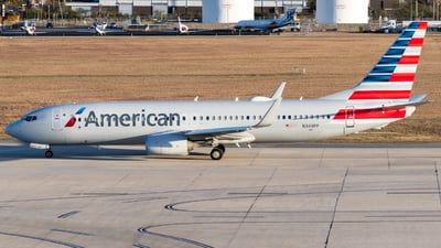A picture of N344PP - Boeing 737823 - American Airlines - © Luke Ayers