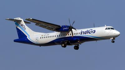 VT-IYF - ATR 72-212A(600) - IndiGo Airlines
