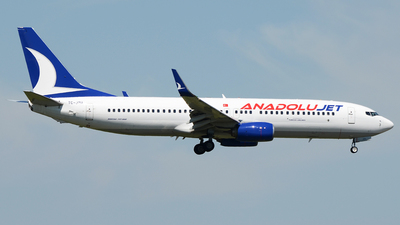 TC-JZU - Boeing 737-8AS - AnadoluJet