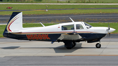 N5689K - Mooney M20J - Private