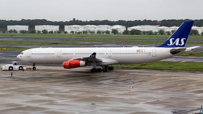 OY-KBD - Airbus A340-313X - Scandinavian Airlines (SAS)