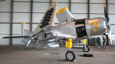 126979 - Douglas AD-4N(A) Skyraider - France - Air Force