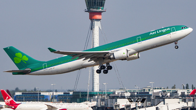 A picture of EIEAV - Airbus A330302 - Aer Lingus - © Ervin Eslami | UK Jets
