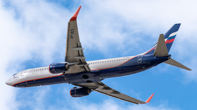 A picture of VPBZA - Boeing 7378LJ - Aeroflot - © Markus Schwab