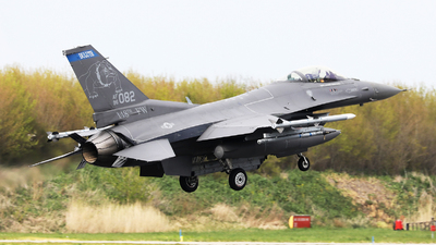 96-0082 - Lockheed Martin F-16CM Fighting Falcon - United States - US Air Force (USAF)