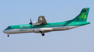 A picture of EIFAU - ATR 72600 - Stobart Air - © Pj Mackey