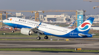 A picture of B307R - Airbus A320251N - Chongqing Airlines - © Eric Wang