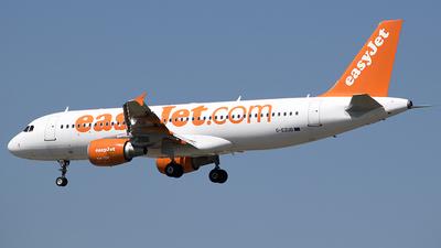 G-EZUD - Airbus A320-214 - easyJet