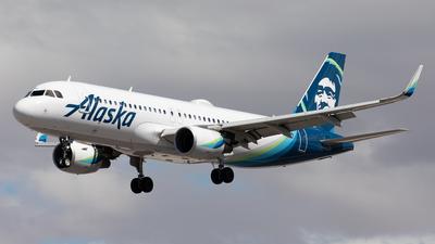 N284VA - Airbus A320-214 - Alaska Airlines