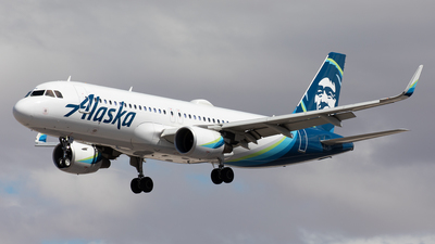 A picture of N284VA - Airbus A320214 - Alaska Airlines - © Alexandre Fazan