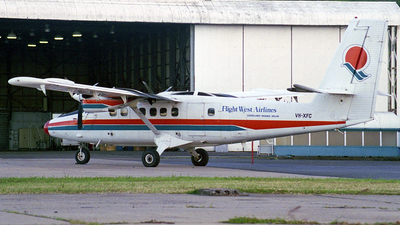 VH-XFC - De Havilland Canada DHC-6-300 Twin Otter - Flight West Airlines