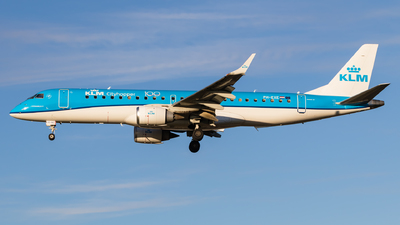 PH-EXE - Embraer 190-100STD - KLM Royal Dutch Airlines