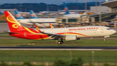B-5580 - Boeing 737-84P - Hainan Airlines
