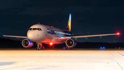 A picture of N296NV - Airbus A320214 - Allegiant Air - © Evan Dougherty