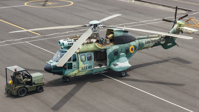E-465 - Aérospatiale AS 332B Super Puma - Ecuador - Army
