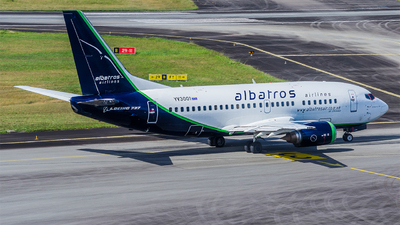 A picture of YV3001 - Boeing 7375L9 - Albatros Airlines - © Faragh Djoemai