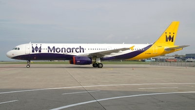 G-OZBR - Airbus A321-231 - Monarch Airlines