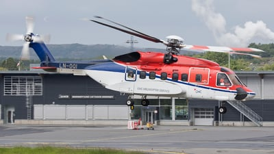 A picture of LNOQI - Sikorsky S92A - CHC Helikopter Service - © Erlend Karlsen