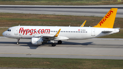 TC-DCA - Airbus A320-214 - Pegasus Airlines
