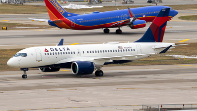 A picture of N134DU - Airbus A220100 - Delta Air Lines - © Steve Rinde